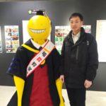 アニメ『暗殺教室』の原画展に行ってきた! 公式Twitterで紹介されたよ!
